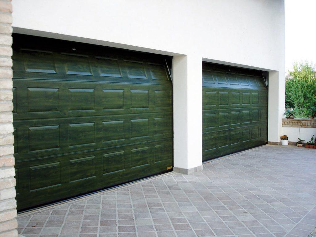Portone sezionale residenziale breda domus line venus for Serrande avvolgibili per garage prezzi