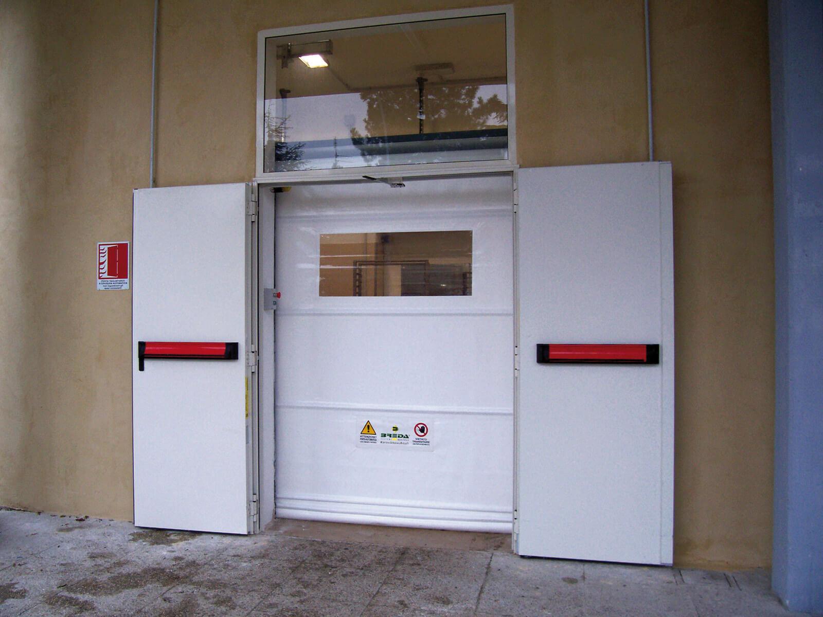 Porta rapida ad avvolgimento SAETTA - Bianco RAL 9010