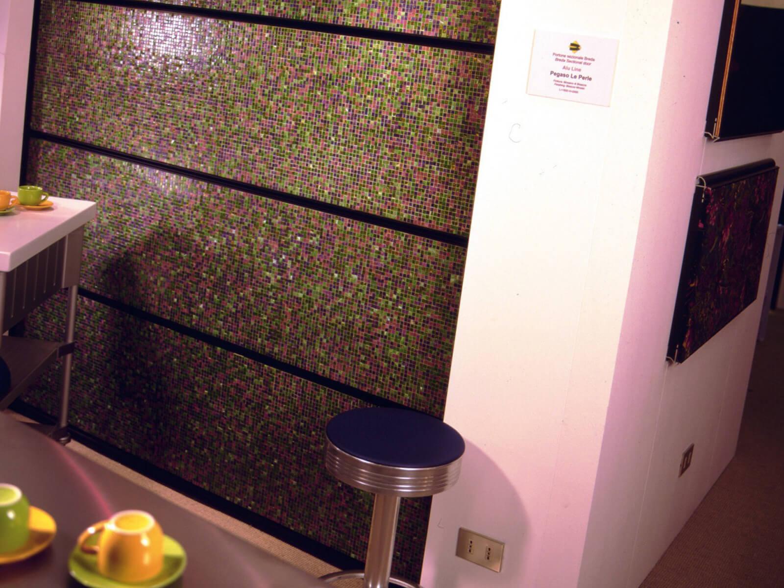 Portone di design Le Perle STONE JEWELS - Mosaico