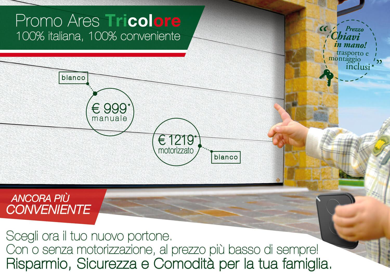 Promo Ares Tricolore bianco C81