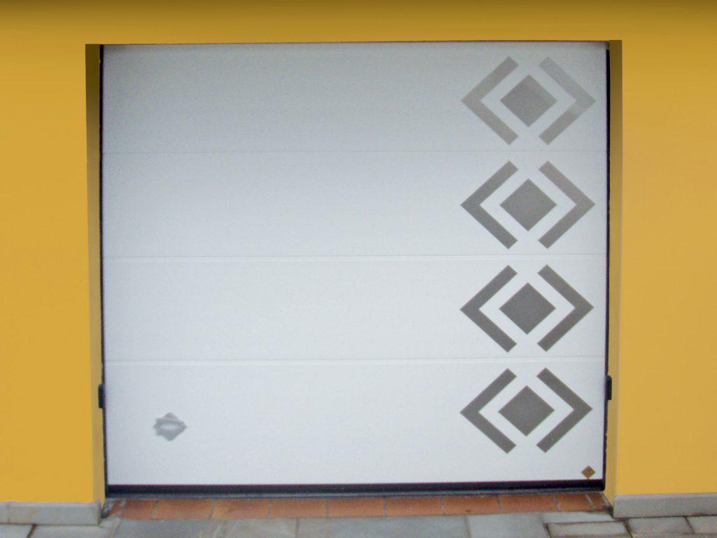Portone sezionale residenziale breda domus line persus for Disegni di addizione garage