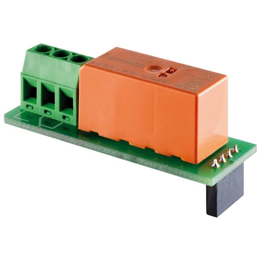 Il RELAIS aggiunge 2 collegamenti per eventuali accessori come lampade, sia interne che esterne
