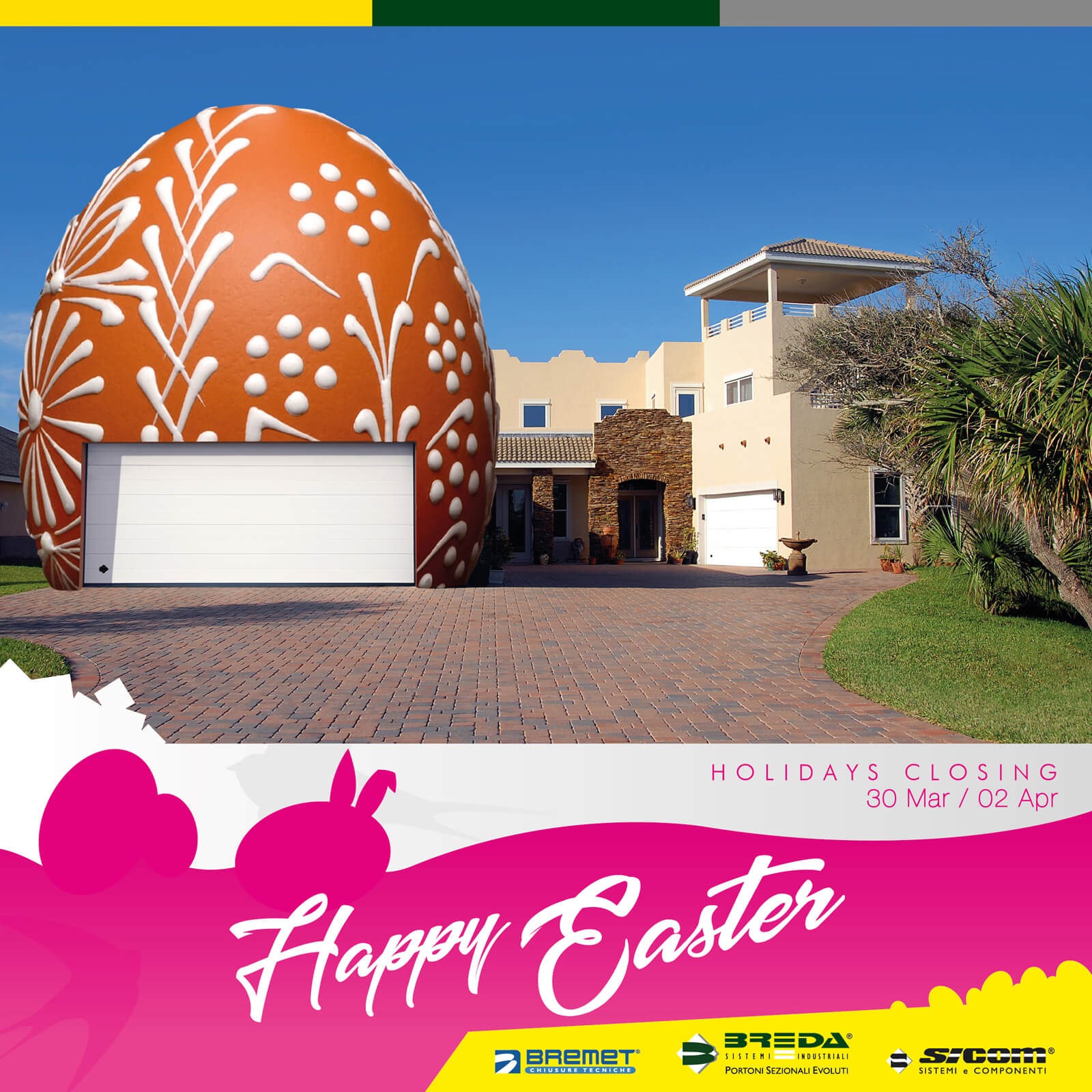 Happy Easter from Breda