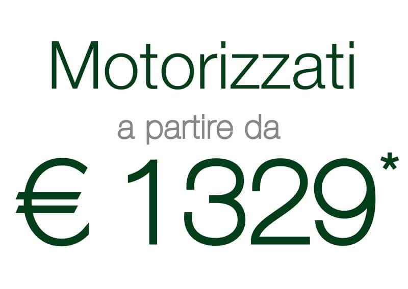 Portone Ares motorizzato 1329 euro