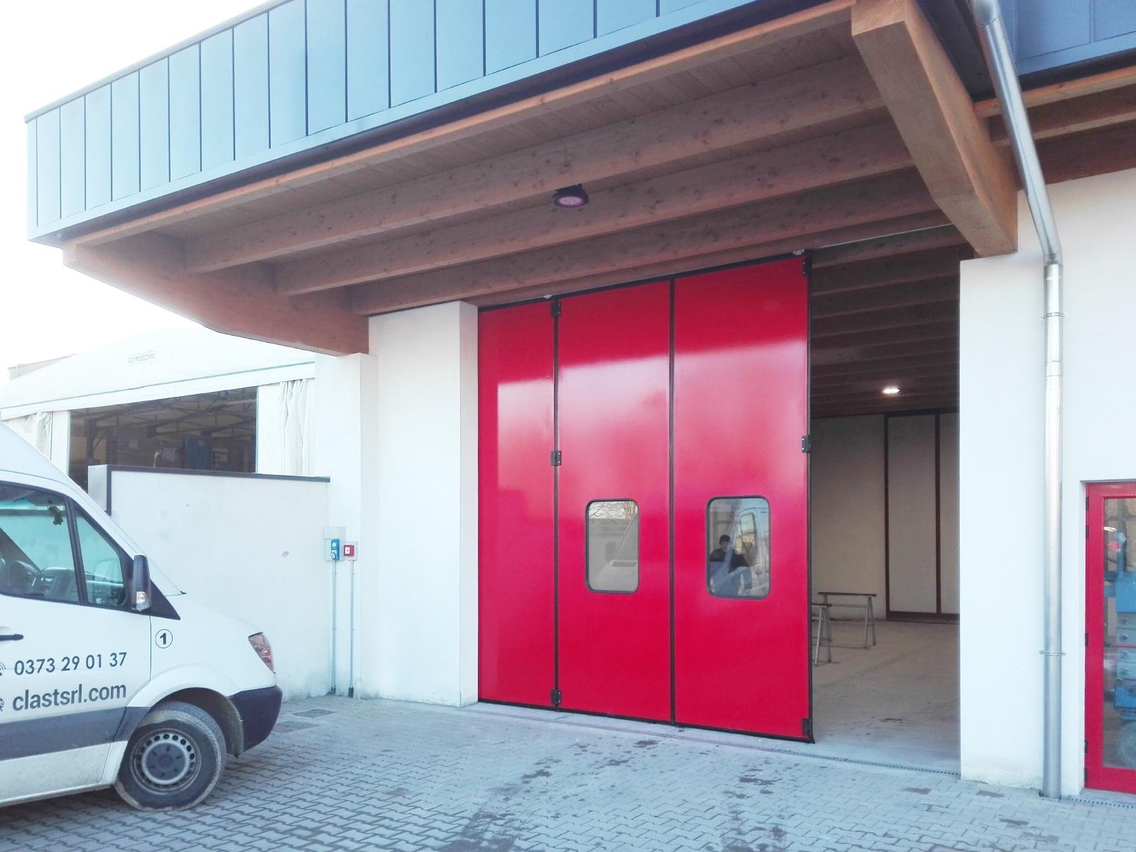 Portone industriale Adone Breda