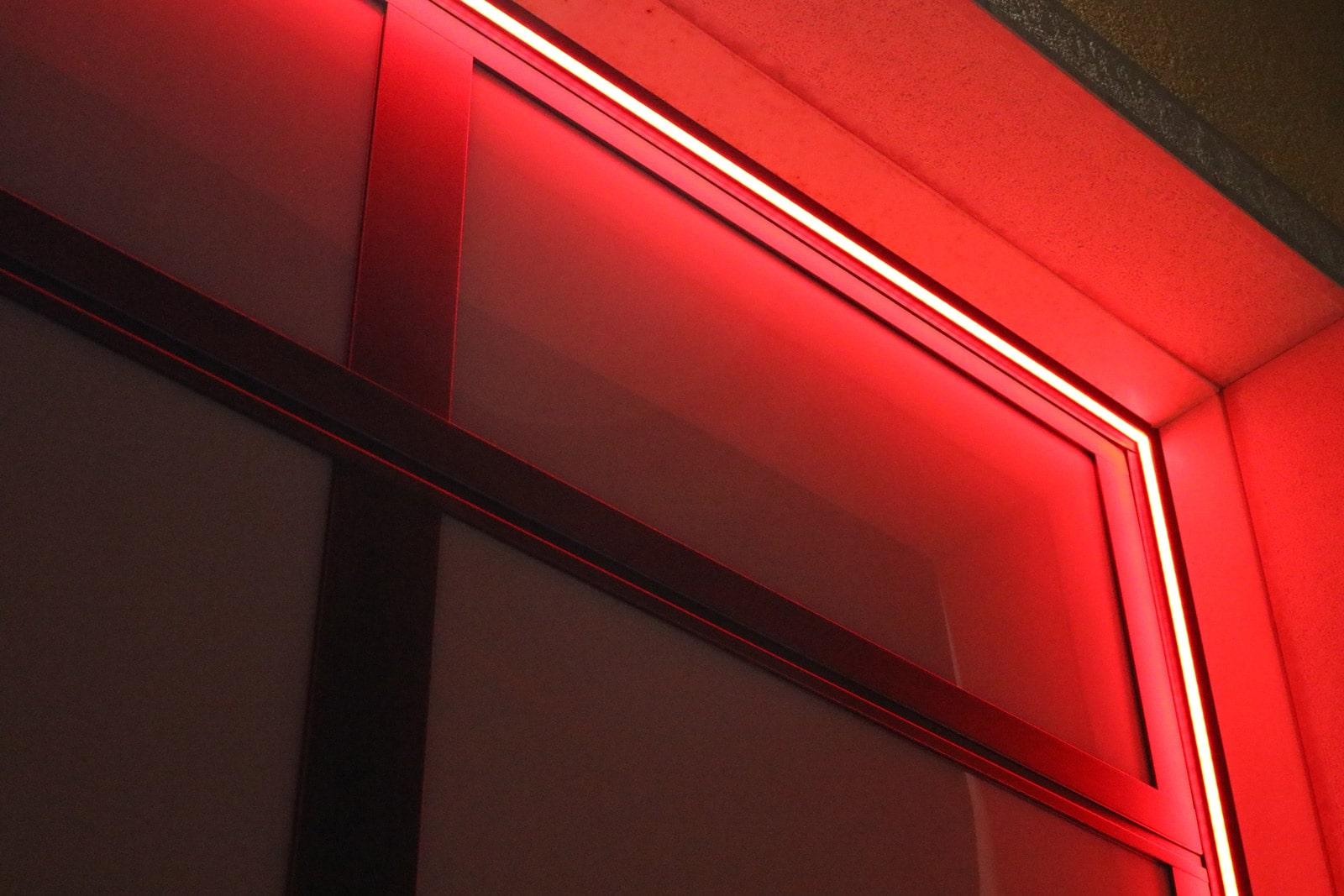 Emotional Light Breda - Led Rosso