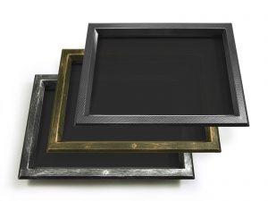 In ABS 525x350 fumè/fumè, cromo maculato, bronzo e carbonio