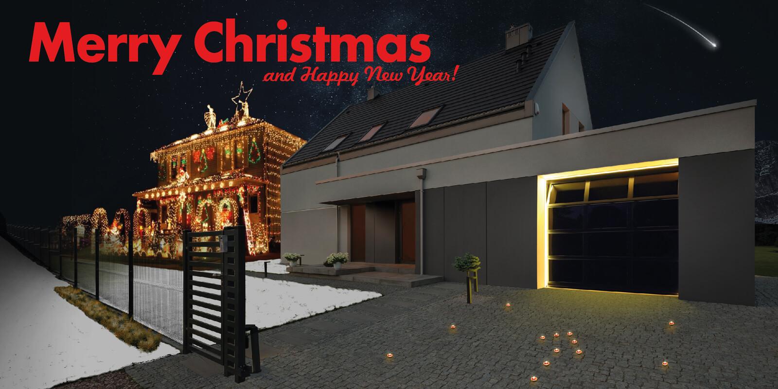 Santa stop here! It's a Breda Christmas house, Merry Christmas!