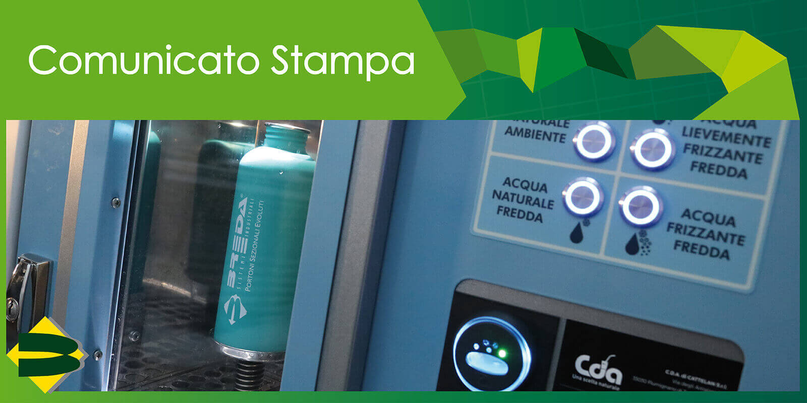 """Breda punta al plastic free: """"Il successo di un'azienda passa anche dalla sostenibilità ambientale"""""""